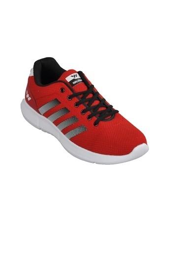 Walkway 047 Kırmızı-Beyaz Erkek Spor Ayakkabı Kırmızı